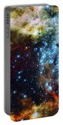 Deep Space Fire And Ice 2 Portable Battery Charger