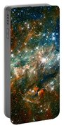 Deep Space Star Cluster Portable Battery Charger