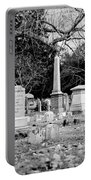 Deep Within Evergreen Cemetery Portable Battery Charger