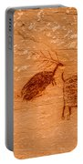 Deer And Bison Pictograph - Horseshoe Canyon - Utah Portable Battery Charger