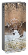 Deer Fight Portable Battery Charger