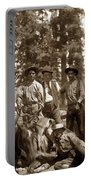 Deer Hunters  With Rifles Circa 1917 Portable Battery Charger