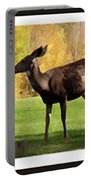 Deer In The Wild Portable Battery Charger