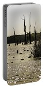 Deer Point Lake At Dusk Portable Battery Charger