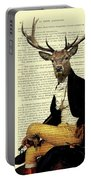 Deer Regency Portrait Portable Battery Charger