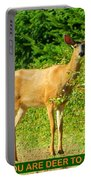 Deer To Me Portable Battery Charger