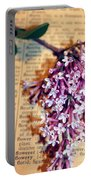 Defining Lilacs Portable Battery Charger