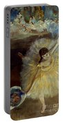Degas: Arabesque, 1876-77 Portable Battery Charger