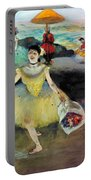 Degas: Dancer, 1878 Portable Battery Charger