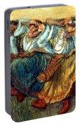 Degas: Dancing Girls, C1895 Portable Battery Charger