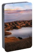 Del Valle At Sunset Portable Battery Charger