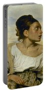 Delacroix: Orphan, 1824 Portable Battery Charger
