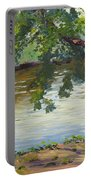 Delaware River At Washington's Crossing Portable Battery Charger