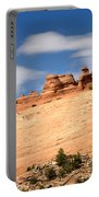Delicate Arch Famous Landmark In Arches National Park Utah Portable Battery Charger