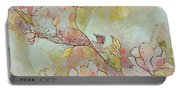 Delicate Magnolias Portable Battery Charger