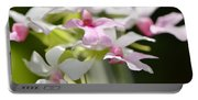 Delicate Orchids By Sharon Cummings Portable Battery Charger