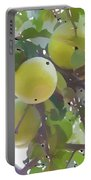 Delicious Yellow Apple In Summer Portable Battery Charger