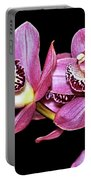 Delightful Orchid Portable Battery Charger