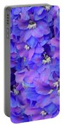 Delphinium Blue Portable Battery Charger