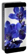 Delphinium Study Portable Battery Charger