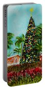 Delray Beach Christmas Tree Portable Battery Charger