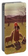 Deluded Hopes Portable Battery Charger by Giuseppe Pellizza da Volpedo
