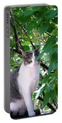 Demure Kitty Portable Battery Charger