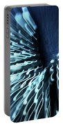 Denim And Light  Abstract 2 Portable Battery Charger
