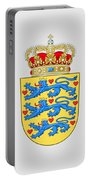Denmark Coat Of Arms Portable Battery Charger