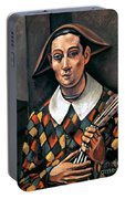 Derain: Harlequin, 1919 Portable Battery Charger