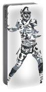 Derek Carr Oakland Raiders Pixel Art 11 Portable Battery Charger