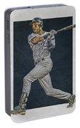 Derek Jeter New York Yankees Art 2 Portable Battery Charger