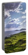 Derrynane National Park Along Ring Of Kerry, Ireland Portable Battery Charger
