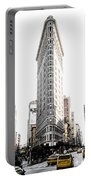 Desaturated New York Portable Battery Charger