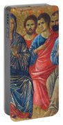 Descent Of The Holy Spirit Upon The Apostles Fragment 1311 Portable Battery Charger
