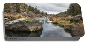 Deschutes River At Eagle Crest Portable Battery Charger