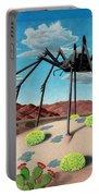 Desert Bug Portable Battery Charger by Snake Jagger