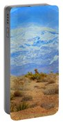 Desert Contrasts Portable Battery Charger by Michelle Dallocchio