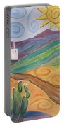 Desert Dreams Portable Battery Charger