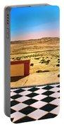 Desert Dreamscape Portable Battery Charger