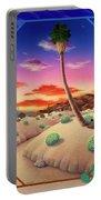 Desert Gazebo Portable Battery Charger