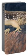 Desert Iguana Mural Portable Battery Charger