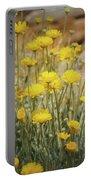 Desert Marigold Bouquet  Portable Battery Charger