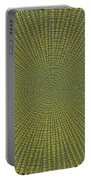 Desert Marigold Flowers Abstract #2 Portable Battery Charger