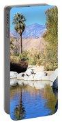 Desert Pond Portable Battery Charger