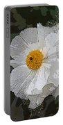 Desert Poppies Portable Battery Charger