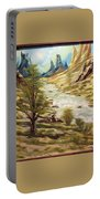 Desert River Portable Battery Charger