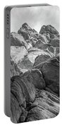 Desert Rock Formation Portable Battery Charger by Frank DiMarco