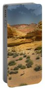 Desert Sandstone Cliffs Valley Of Fire Portable Battery Charger