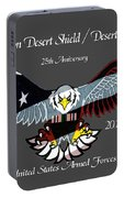 Desert Storm 25th Anniversary Portable Battery Charger